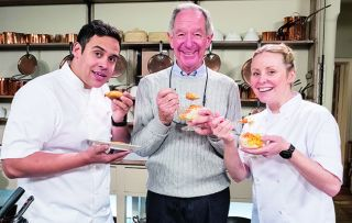 Michael Buerk says he's 'always wanted to eat like a king' – and that's just what he does in this daytime series, showing each weekday afternoon
