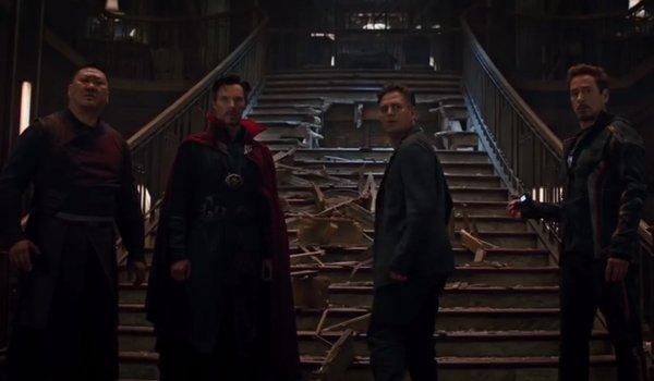 Wong Doctor Strange Bruce Banner Tony Stark Avengers Infinity War