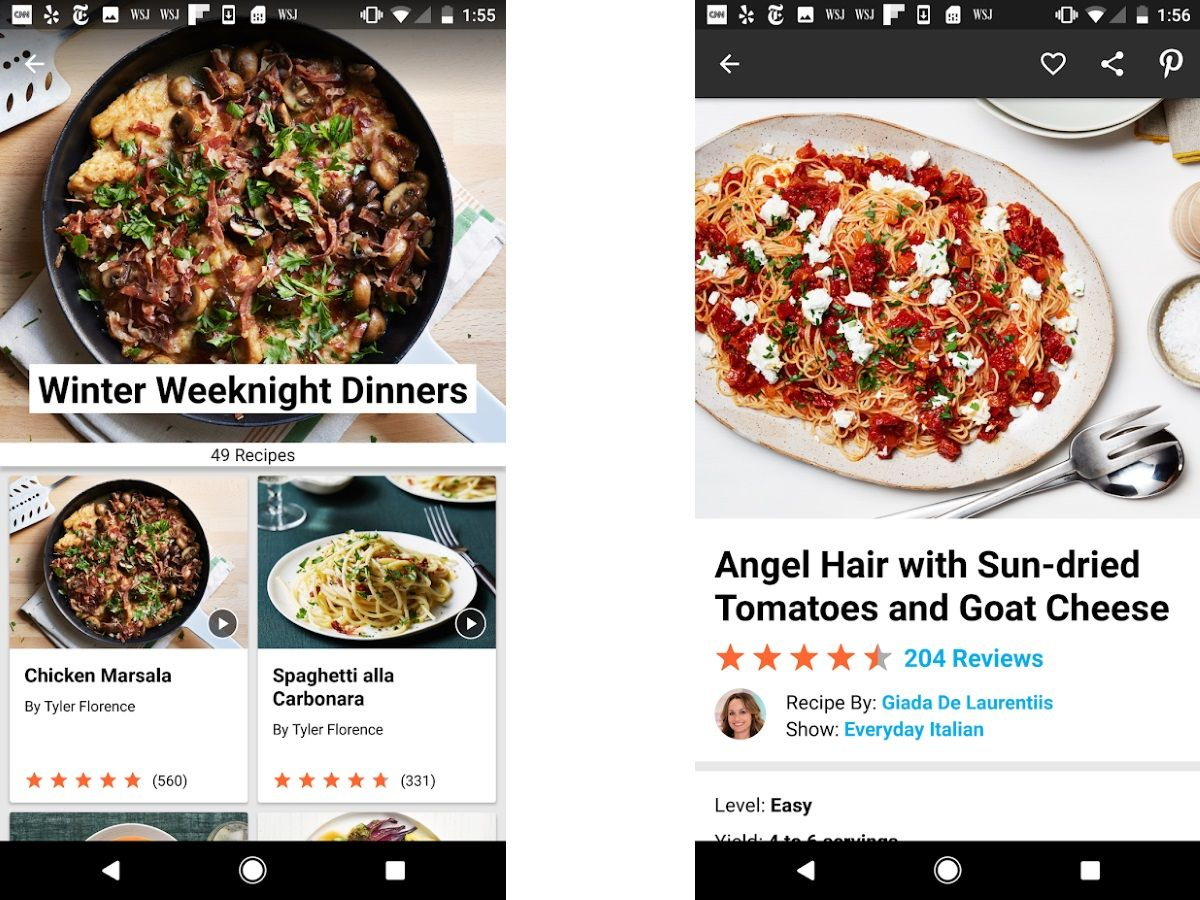 Best Recipe Apps 2019 - Find, Track & Organize Meals on iOS