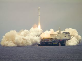 Sea Launch's Odyssey Launch Platform.