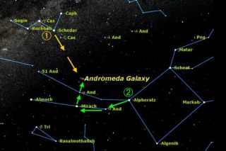 Starhopping 101: Find the Andromeda Galaxy