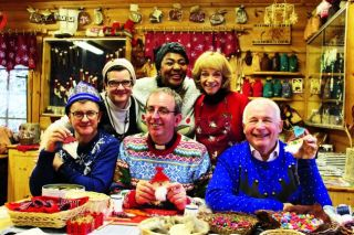 All their Christmases have come at once for big kids Christopher Biggins, Joe Pasquale, Reverend Richard Coles, Rustie Lee and Sue Holderness, who are setting off on a four-day adventure to see the big man himself.