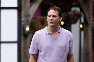 Tony Hutchinson is in deep financial trouble in Hollyoaks