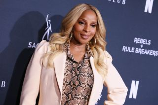 Mary J. Blige attends FYC Netflix Event Rebels And Rule Breakers.