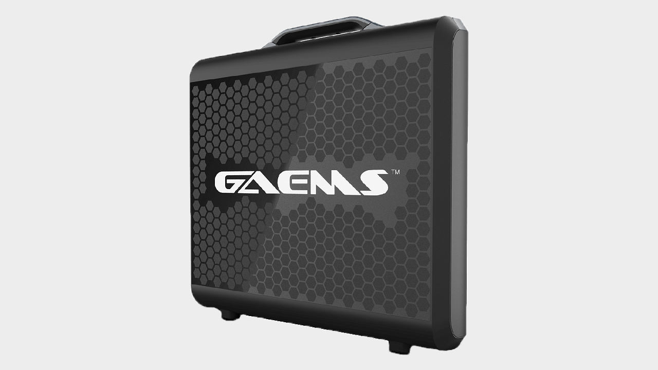 GAEMS' Sentinel is a briefcase monitor for gaming mid-meeting | PC Gamer