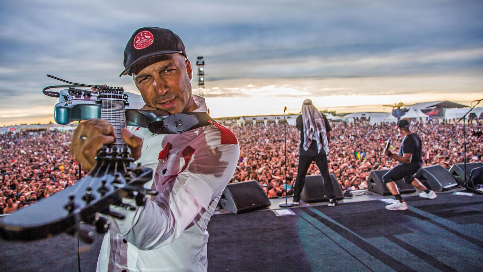 """Tom Morello: """"I wanted one foot planted on a Marshall stack and another in the world of 2019 sonics"""" 