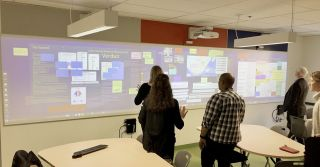 Nureva Walls Enhance Active Learning Classroom at Dawson College