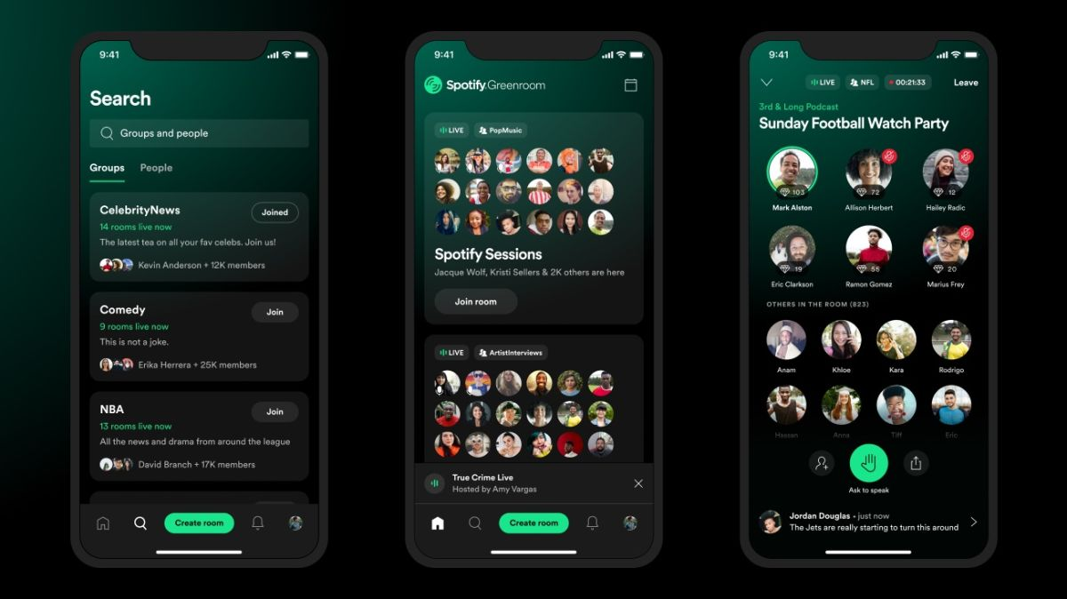 Now Spotify has a Clubhouse-like drop-in chat platform