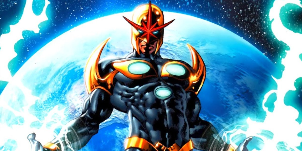 Lone cosmic warrior Nova