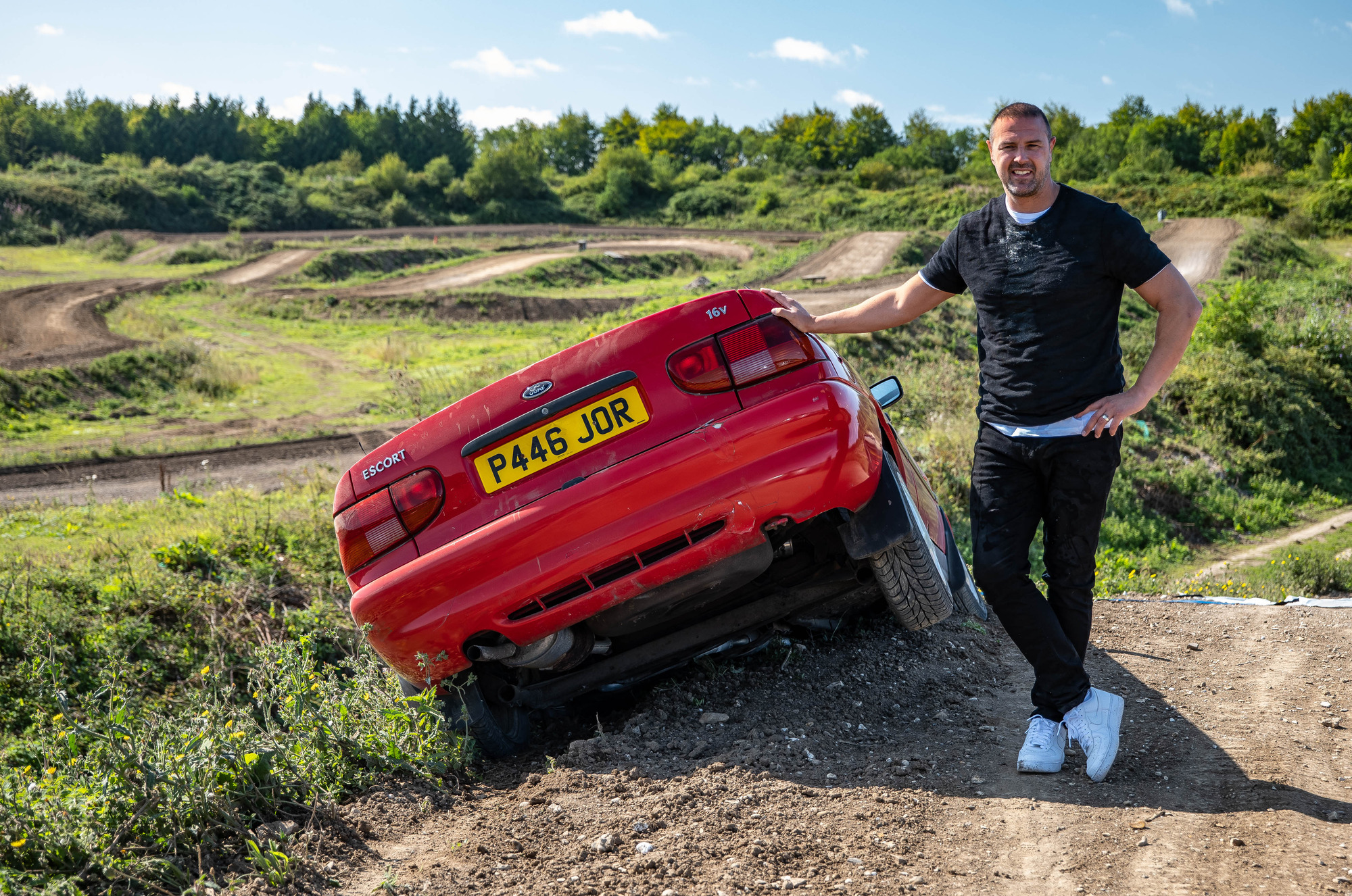 Top Gear star Paddy McGuinness denies the show is set up for the cameras