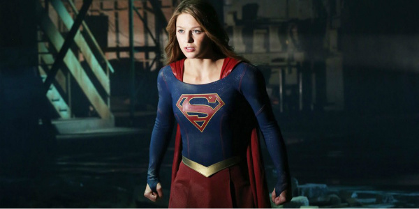 supergirl looking determined