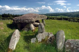 England king arthur stone monument