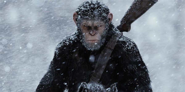 War For The Planet Of The Apes Caesar In The Snow