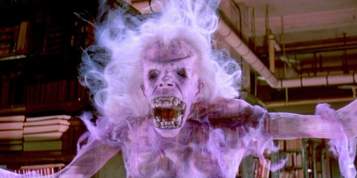 Library ghost in Ghostbusters
