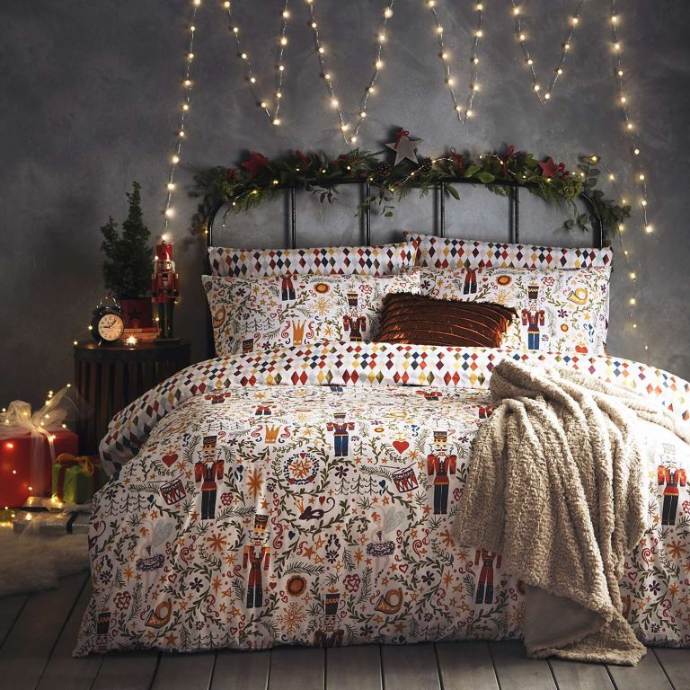 Dunelm Christmas bedding