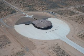 Spaceport America Dressed for 'After Earth'