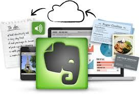 Examples of using Evernote as: teacher, student, admin