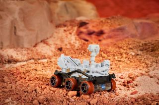 Mattel's new Hot Wheels Mars Perseverance Rover celebrates the robotic explorer landing on the Red Planet on Feb. 18, 2021.