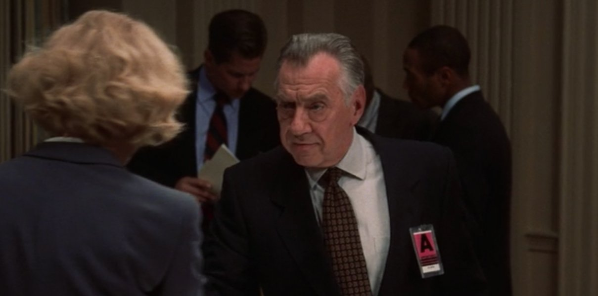Philip Baker Hall in Air Force One