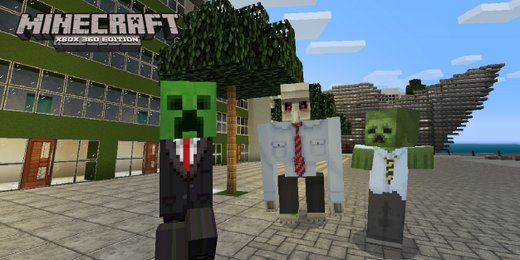 mine craft games minecraft xbox 360 edition city texture pack coming this week 2447