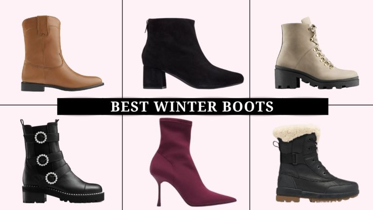 collage of the best winter boots