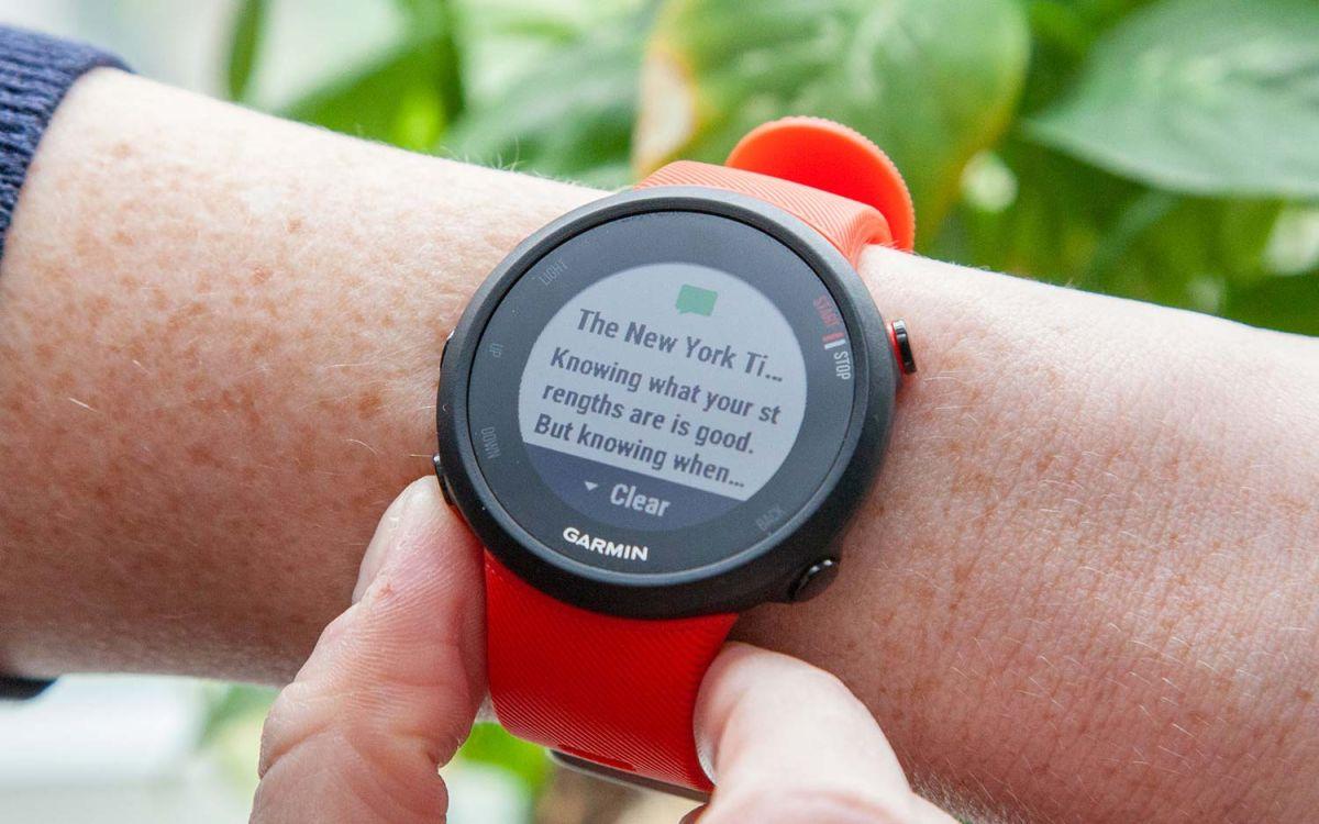Garmin Forerunner 45 Review: Classic GPS Watch Gets a Fresh
