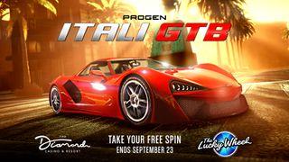 GTA Online Casino Podium Car - Progen Itali GTB