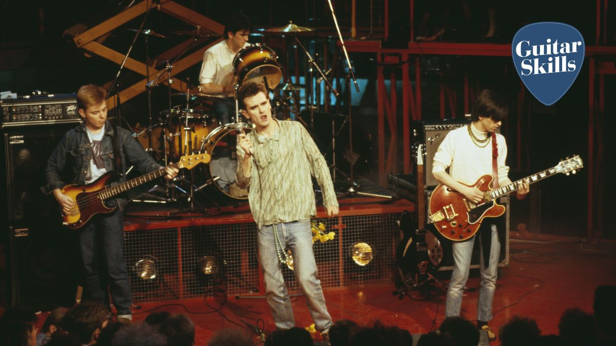 Learn 4 Johnny Marr guitar chords from The Smiths