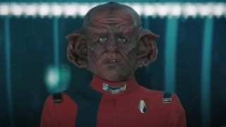 Star Trek: Discovery Ferengi staring concerned