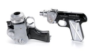 Got $27,000? These two pistol cameras could be yours!