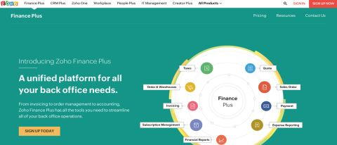 Zoho Finance Plus