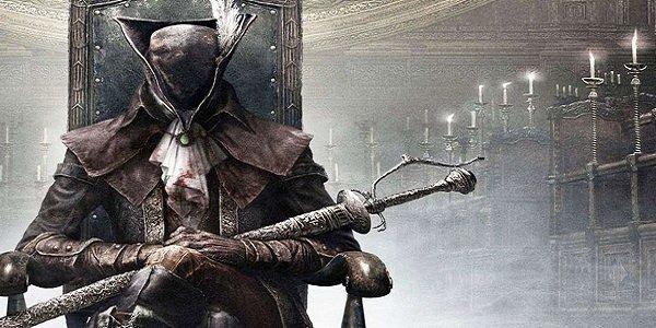 A hunter in Bloodborne