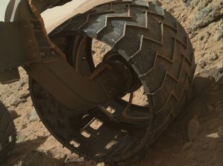 Mars Rover Curiosity's Wheel Wear