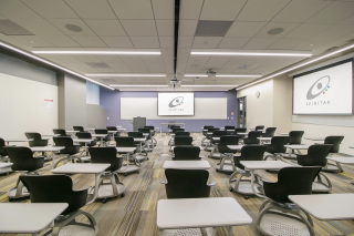 Spinitar worked with Biola University to develop standards for classroom AV in its new Lim Center,