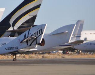 SpaceShipTwo Glide Dec. 19