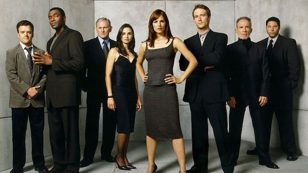 A promo shot for the tv show alias
