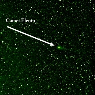 Comet Elenin Photo from NASA's STEREO Spacecraft
