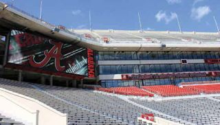 Danley Delivers Alabama Stadium Upgrades on a Tight Deadline