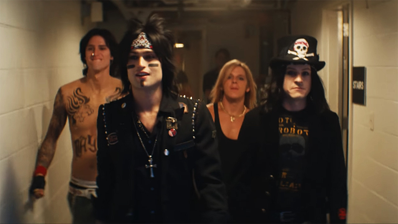 Check out the full explosive trailer for Motley Crue biopic The Dirt