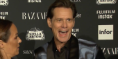 Jim Carrey's Explanation For His Weird Red Carpet Interview Is Even Weirder