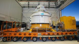 Boeing's Starliner spacecraft returned to the factory Aug. 19, 2021 to fix some stuck valves ahead of its OFT-2 test flight for NASA later this year.
