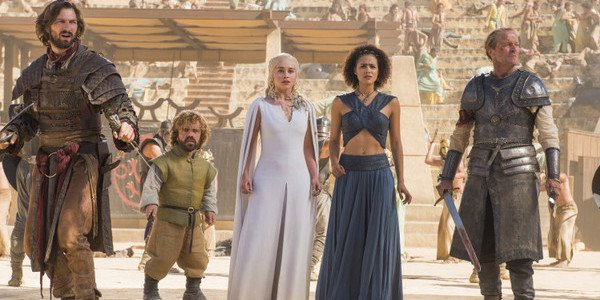game of thrones dany missandei tyrion ser jorah daario meereen