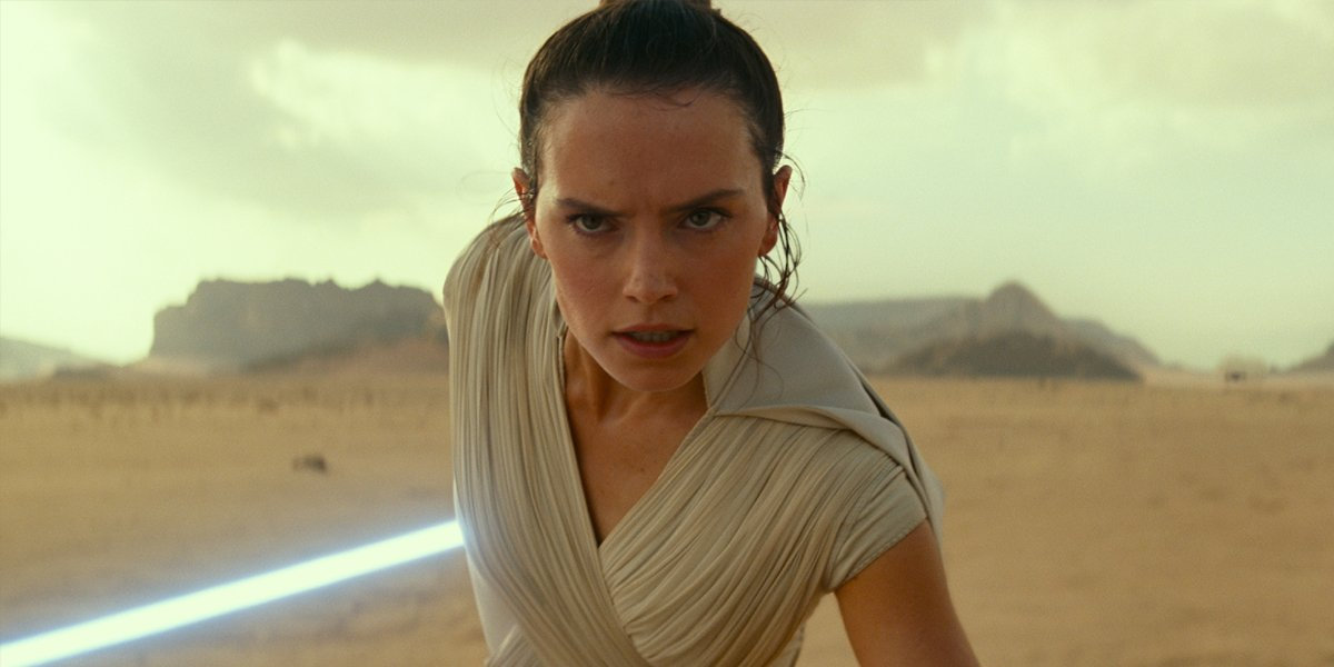 Rey in rise of skywalker