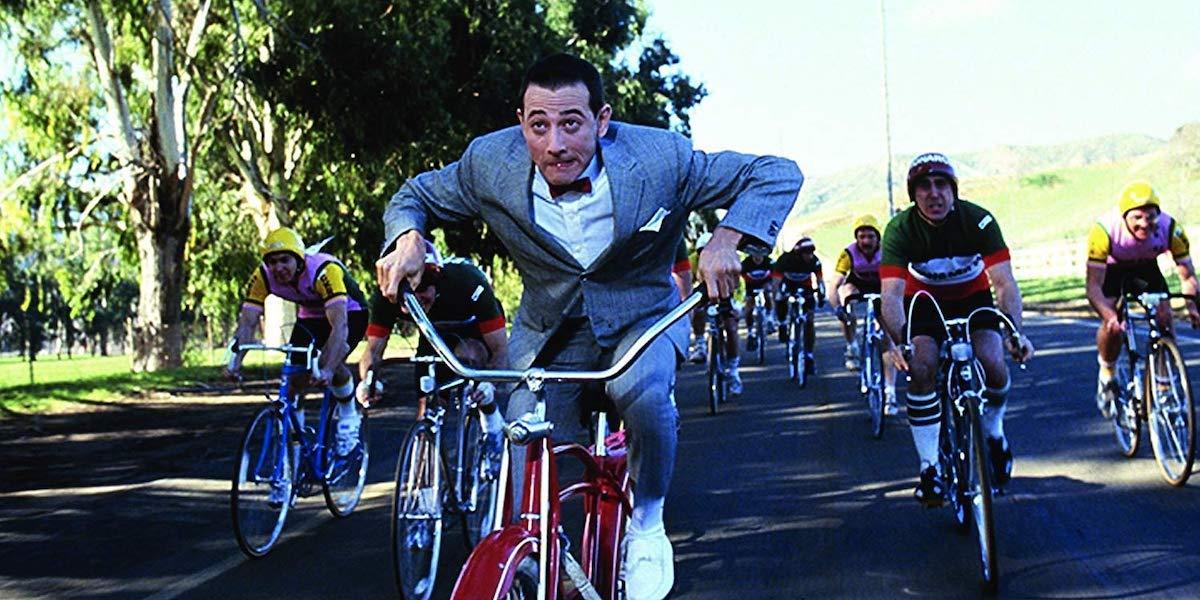 Paul Reubens in Pee-wee's Big Adventure