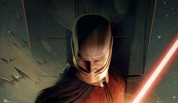 Darth Malak on the cover of Star Wars: The Knights of the Old Republic