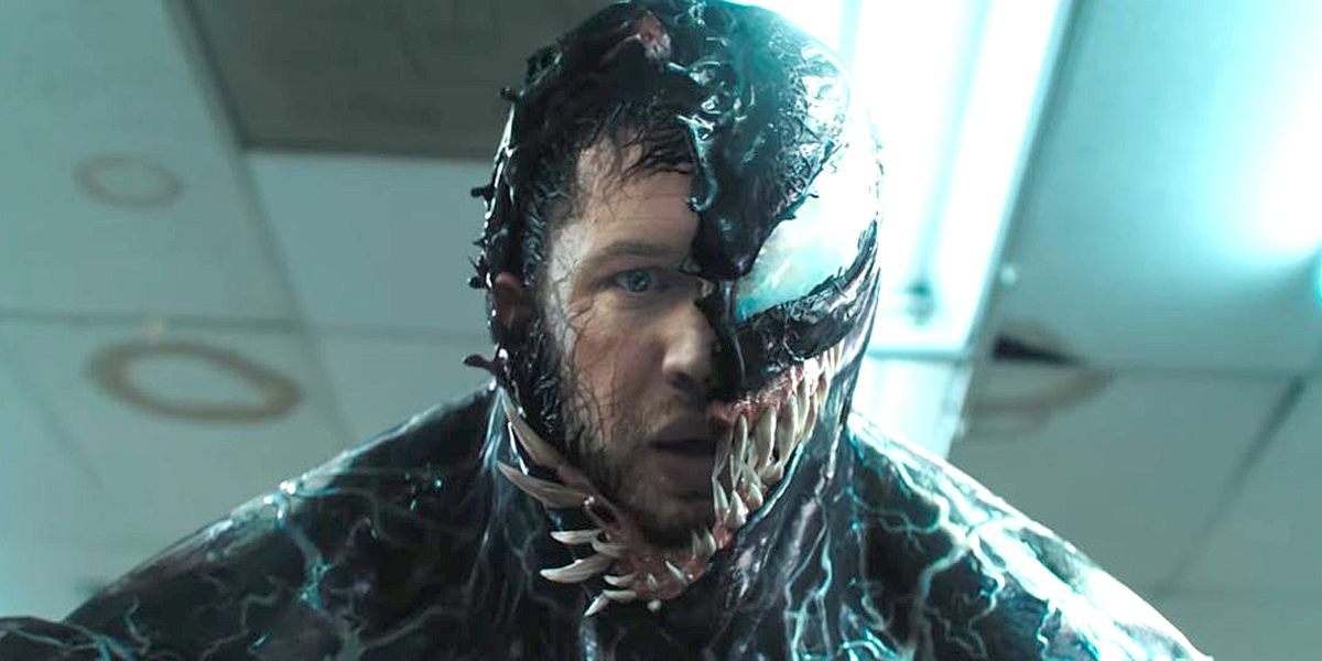 Tom Hardy Symbiote in Venom