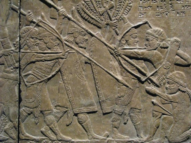 Assyrian Battle of Til-Tuba Relief