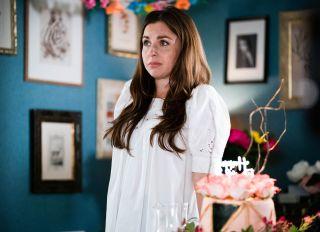 Ruby Fowler feels mortified in EastEnders