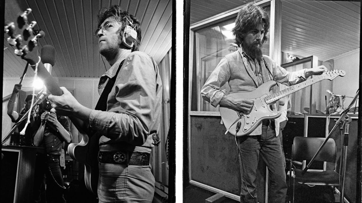 Imagine This How John Lennon And George Harrison Teamed Up To Record A Classic Album In 1971 Guitar World
