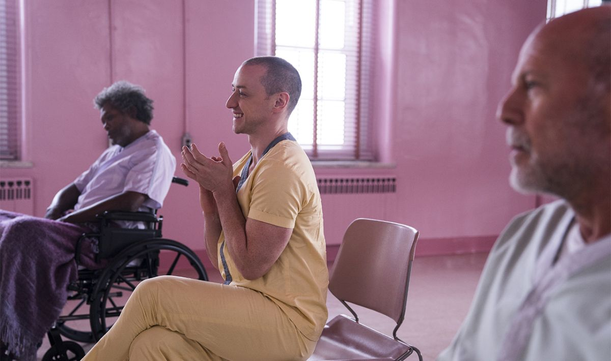 """Glass review: """"Doesn't quite live up to the lofty heights of Unbreakable and Split"""""""